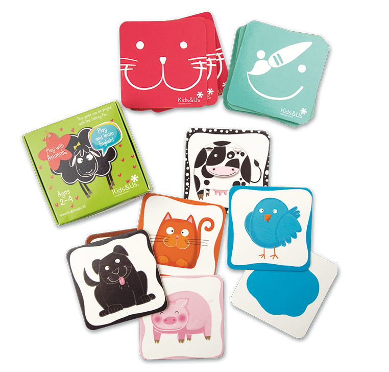 Jeu de cartes de Betty Sheep: Play with Animals